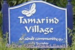 sign for Tamarind Village of The Township