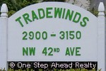 sign for Tradewinds of The Township