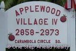 sign for Applewood IV of The Township