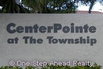 sign for CenterPointe of The Township