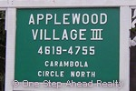 sign for Applewood III of The Township