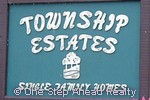 sign for Township Estates of The Township